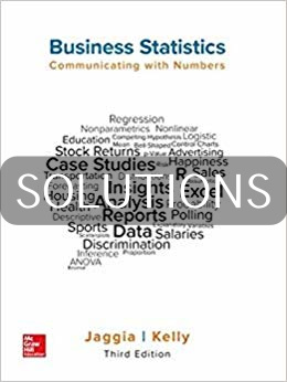 Solution Manual for Business Statistics 3rd Edition by Jaggia