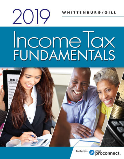 Solution Manual for Income Tax Fundamentals 2019 37th Edition by Whittenburg