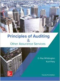 Solution Manual for Principles of Auditing Other Assurance Services 21st Edition by Whittington