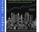 Solution Manual for Management Accounting 8th Edition by Langfield-Smith