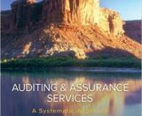Solution Manual for Auditing and Assurance Services 11th Edition by Messier